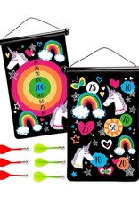 Hearth Song Double Sided Magnetic Target Unicorn