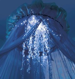 Hearth Song Aquaglow Jellyfish Hideaway