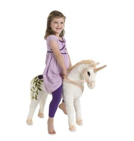 Hearth Song Unicorn Sit On Plush