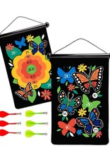 Hearth Song Double Sided Magnetic Target Butterfly
