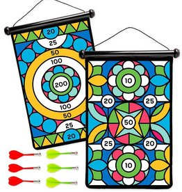Hearth Song Double Sided Magnetic Target Geometric