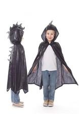 Little Adventures Dragon Cloak Black / Silver