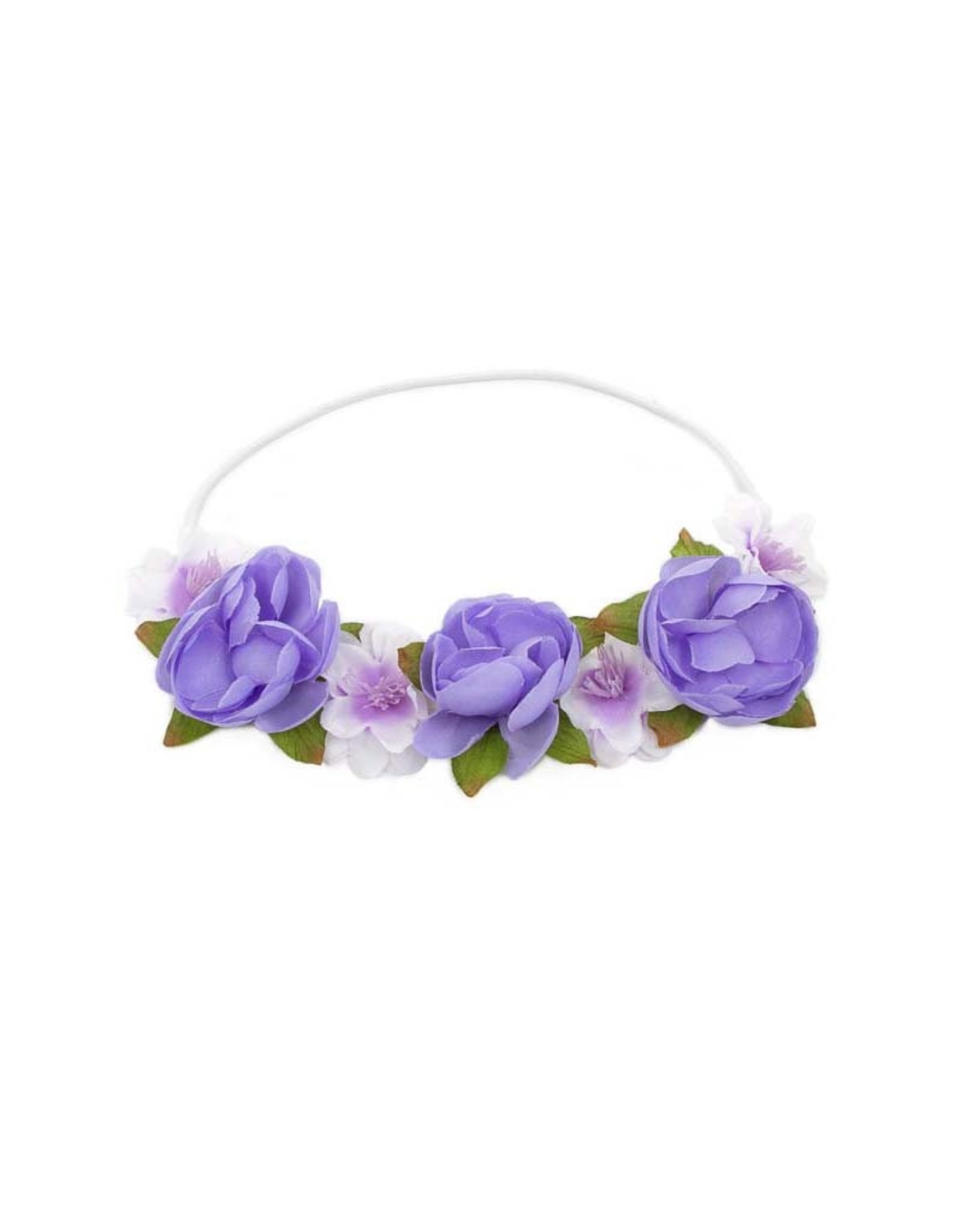 Little Adventures Lilac Flower Headband