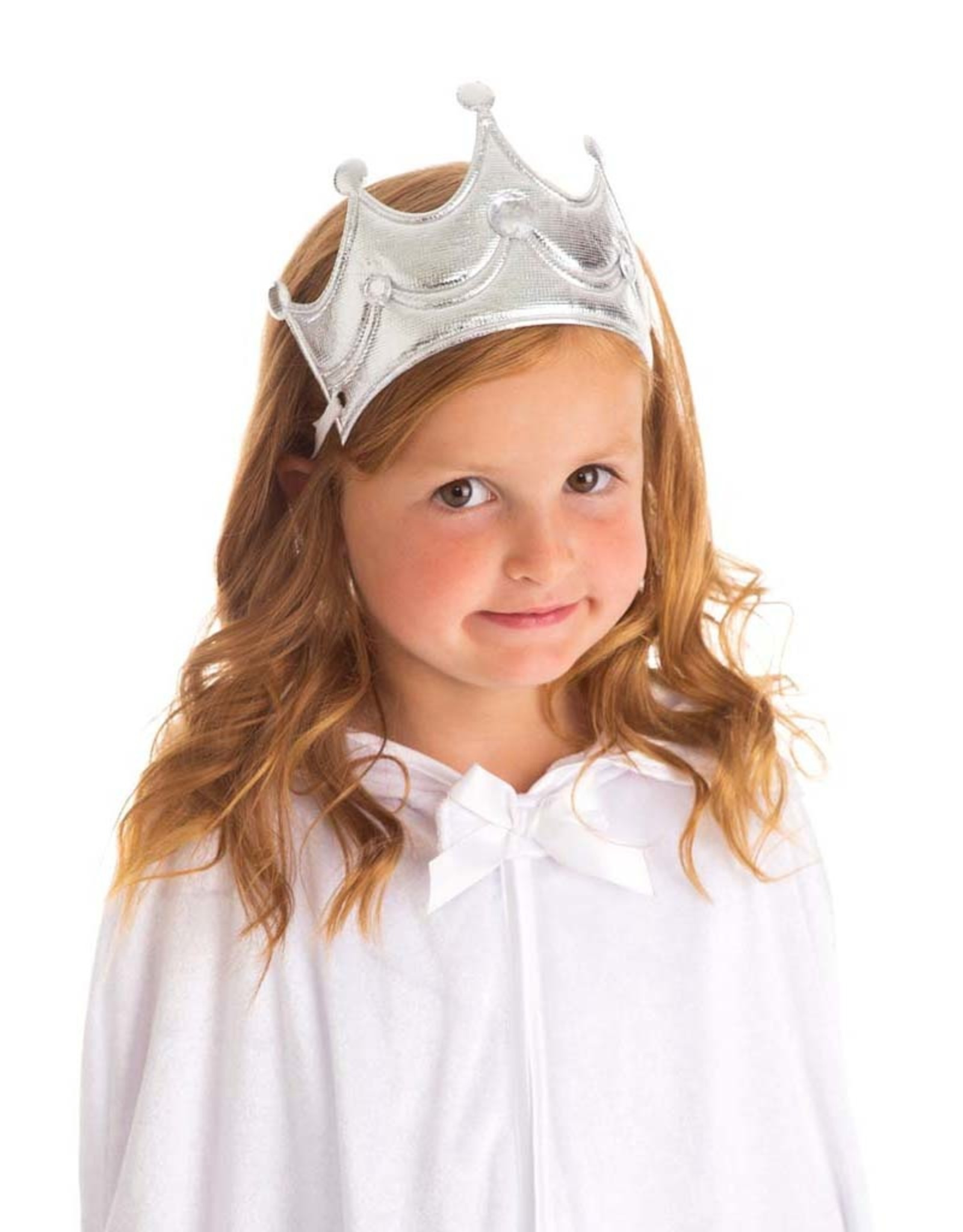 Little Adventures Princess Soft Crown Silver