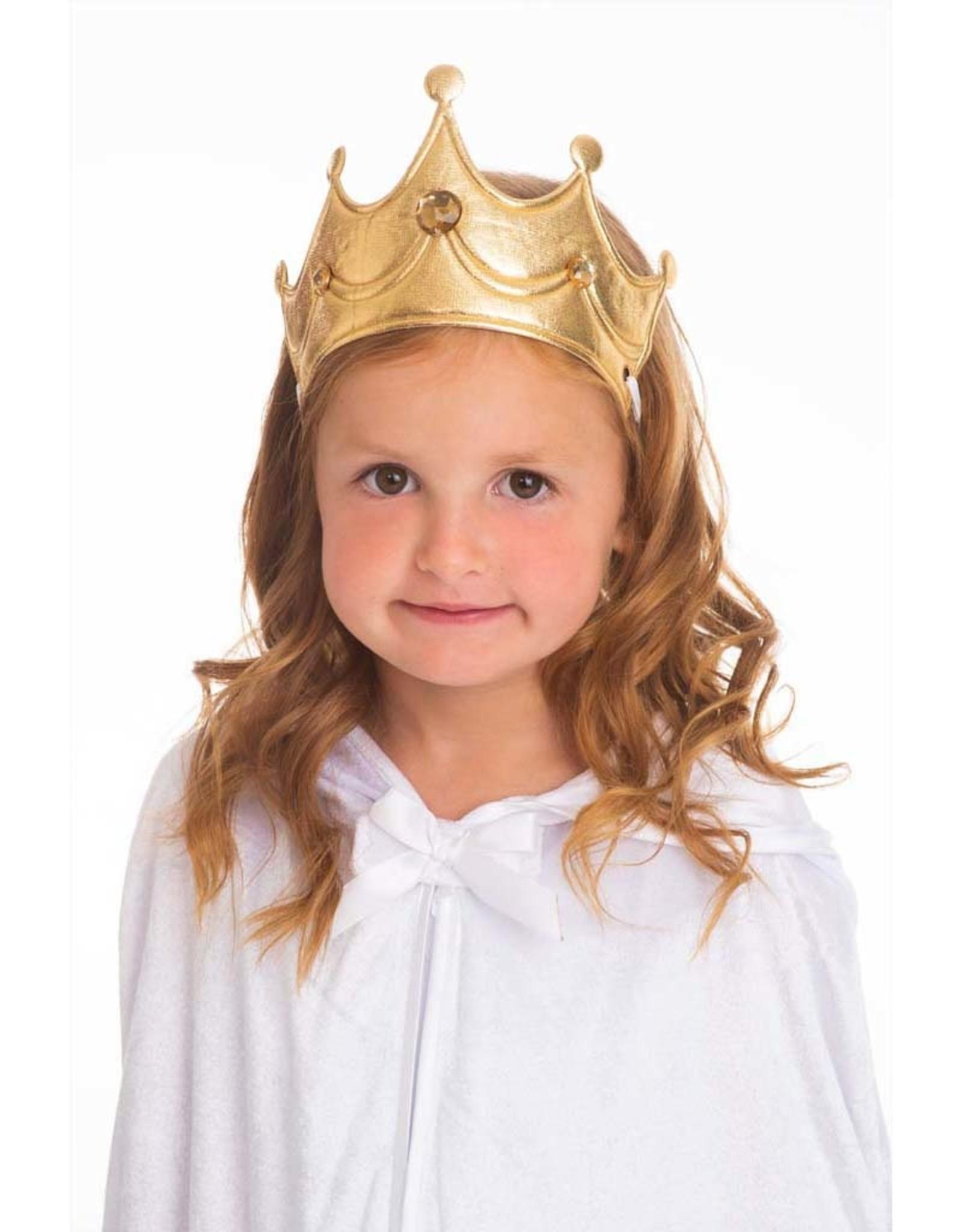 Little Adventures Princess Soft Crown Gold