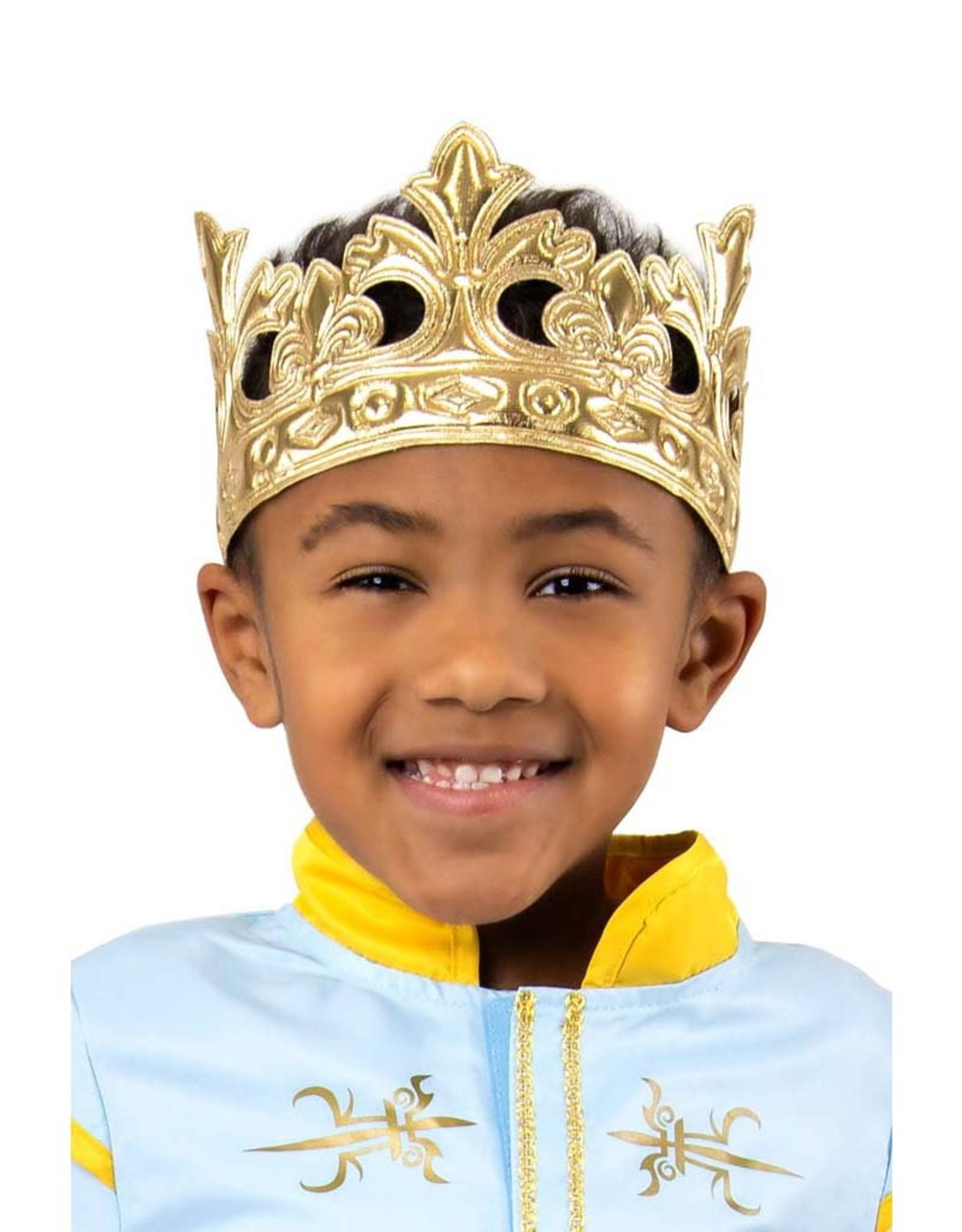 Little Adventures Prince Soft Crown Gold