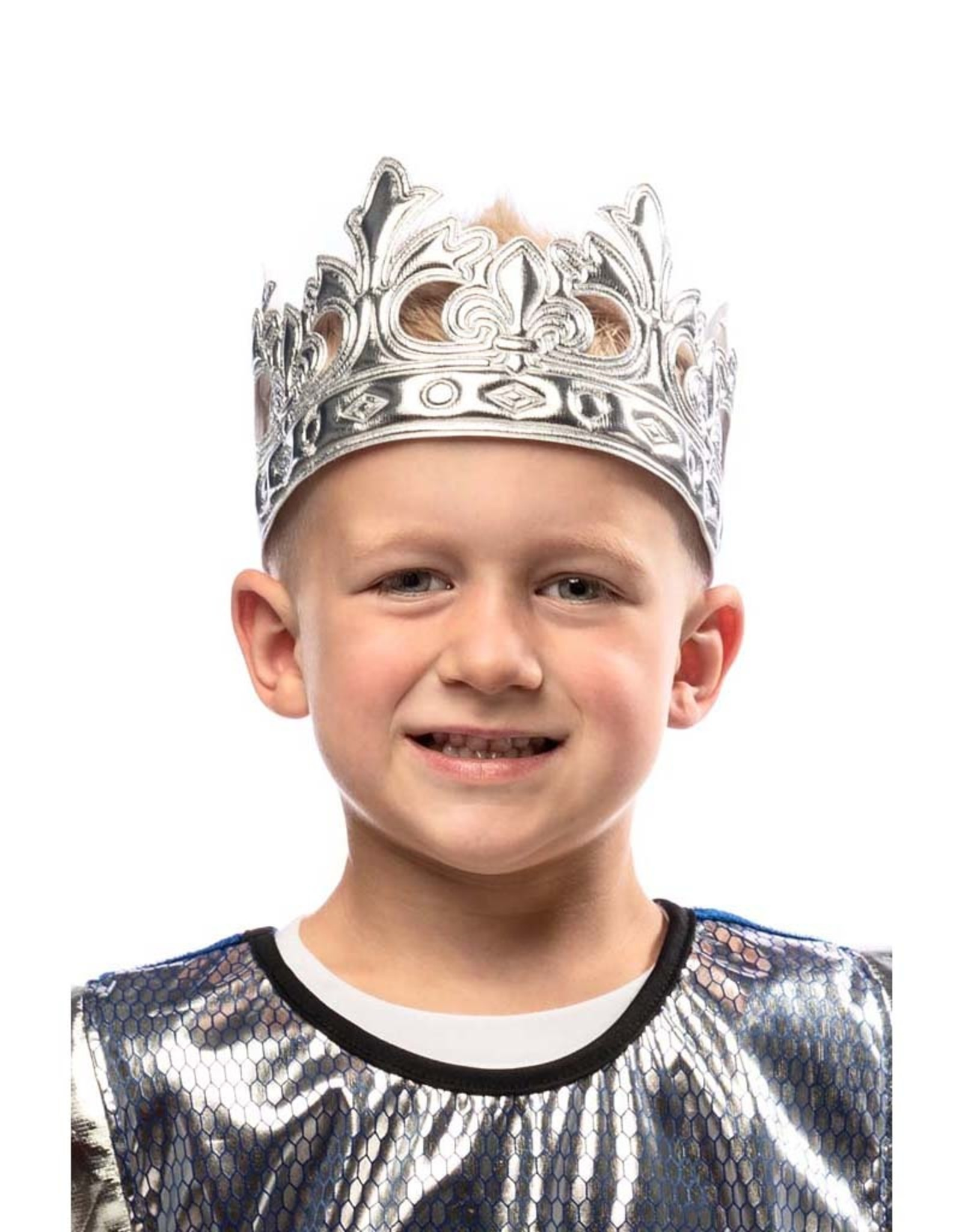 Little Adventures Prince Soft Crown Silver