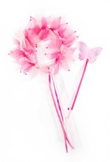 Little Adventures Hot Pink/Light Pink Fairy Halo & Wand