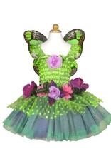 Great Pretenders Fairy Blooms Deluxe Dress, Green Size 3-4