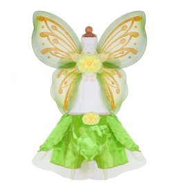 Great Pretenders Tinkberbell Skirt and Wings Set, Size 4-6