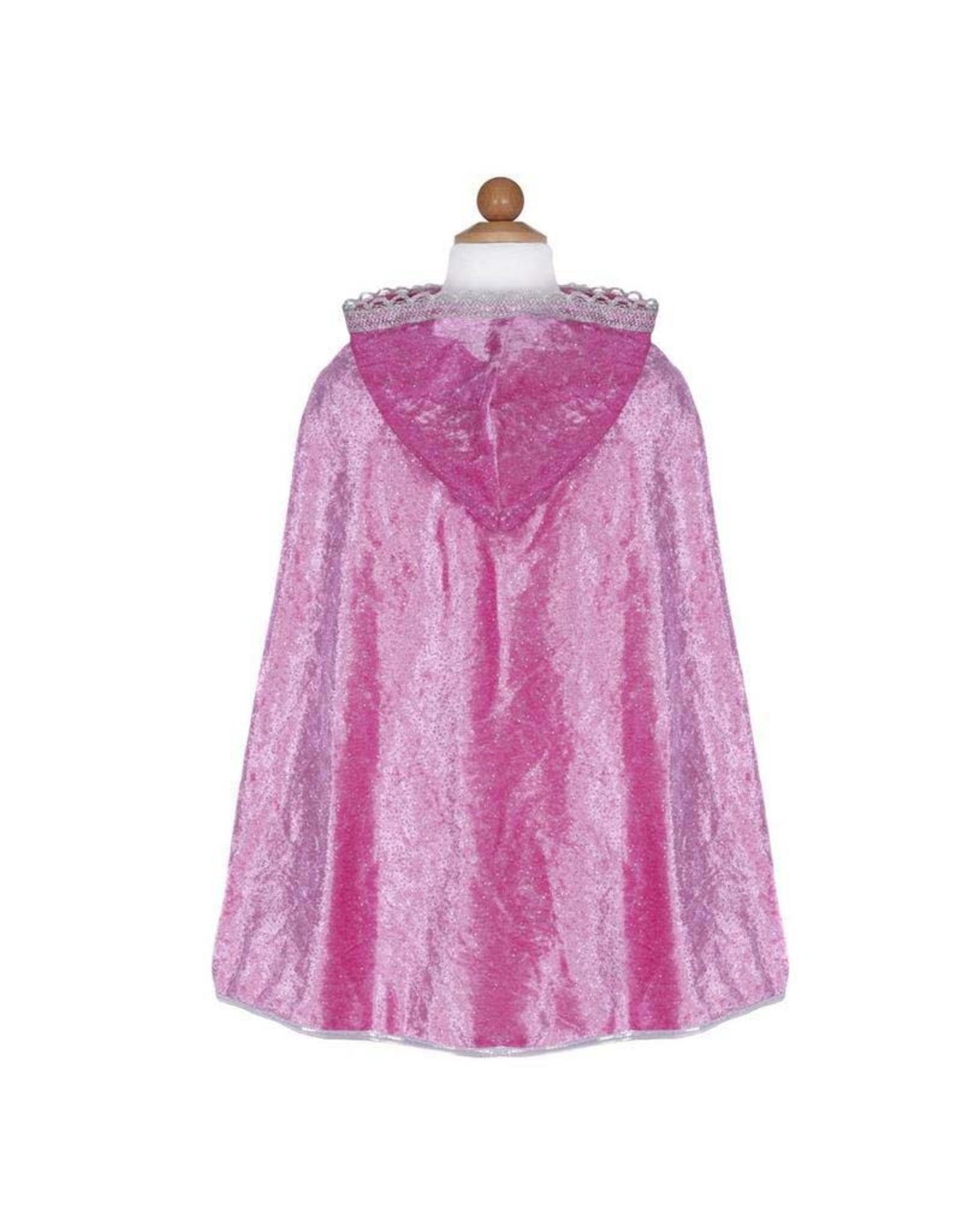 Great Pretenders Diamond Sparkle Cape Dark Pink sm