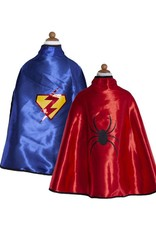 Great Pretenders Reversible Adventure Cape w/ Mask, Size 5-6