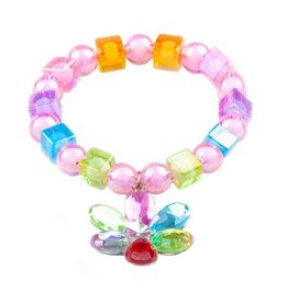 Great Pretenders Flower Gem Bead Bracelet