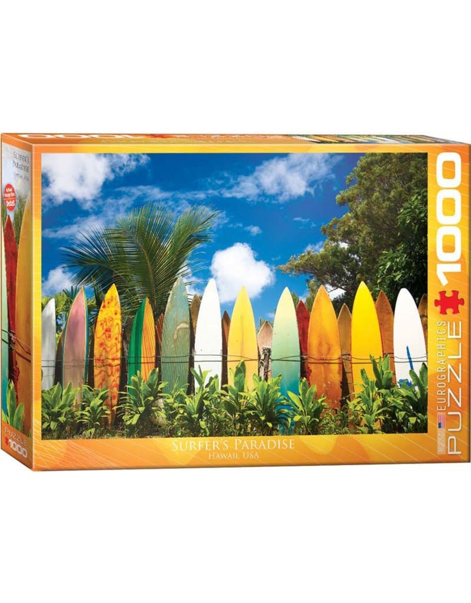 EuroGraphics 1000pc Surfer's Paradise, HI