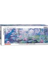 EuroGraphics 1000pc Panoramic Waterlilies
