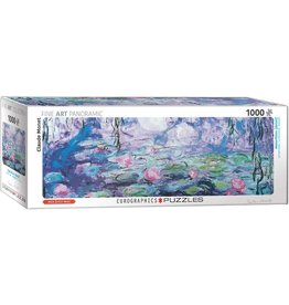 EuroGraphics 1000pc Panoramic Waterlilies