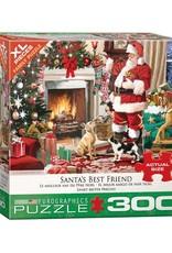 EuroGraphics 300pc Santa's Best Friend by Richard MacNeil