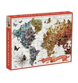 1000pc Butterfly Migration