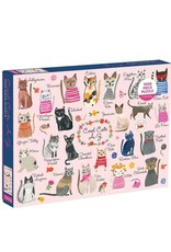 1000pc Puzzle Cool Cats A-Z