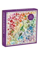Galison 500pc Puzzle Rainbow Ornaments