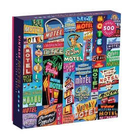 500pc Vintage Hotel Signs