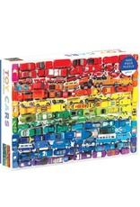 Galison 1000pc Toy Cars