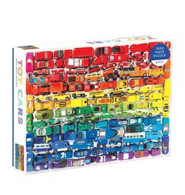 1000pc Toy Cars