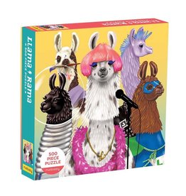 500pc Family Puzzle Llama-Rama