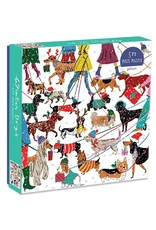 500pc Puzzle Winter Dogs