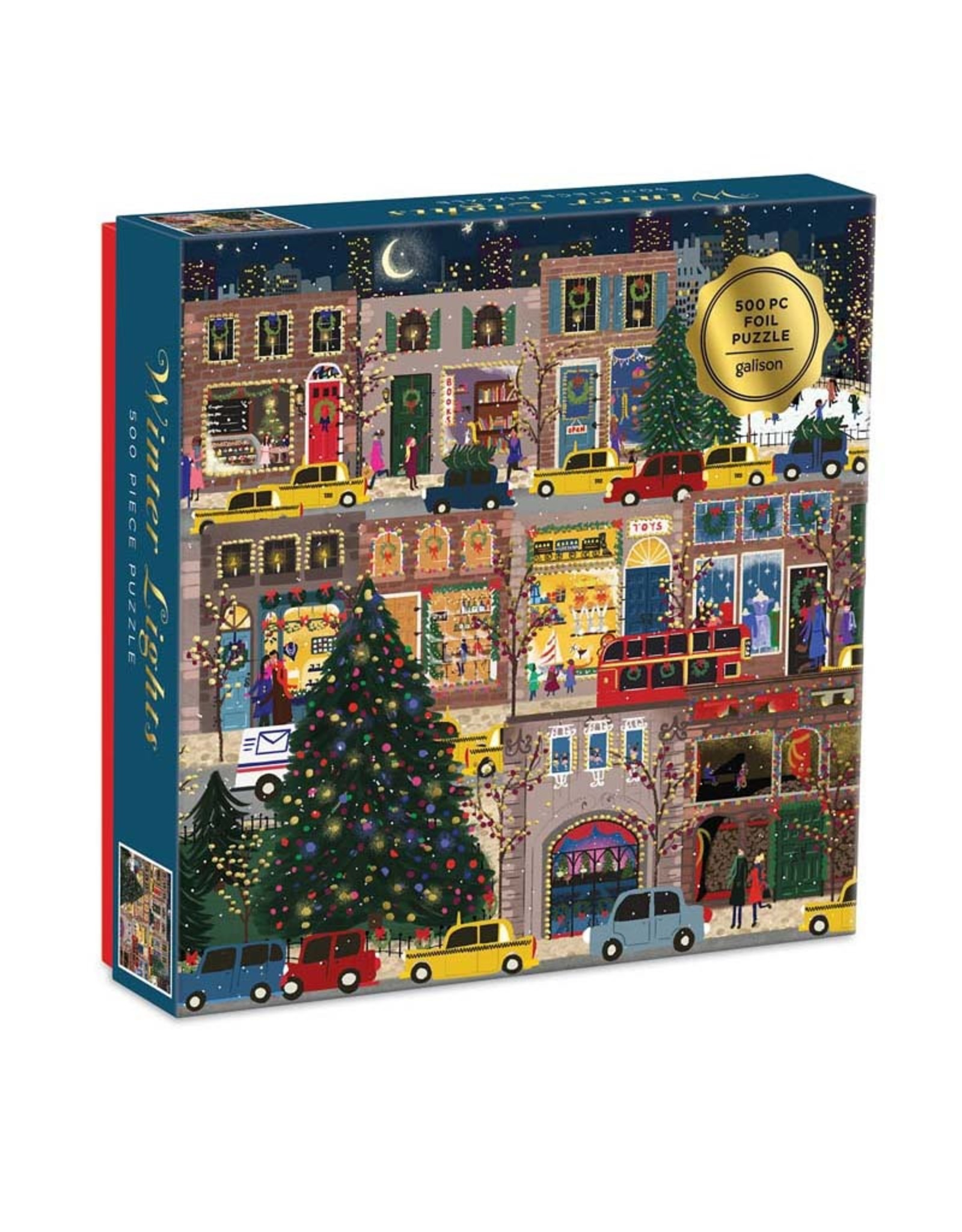 500pc Puzzle Winter Lights