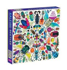 Galison 500PC Puzzle Family Kaleido Beetles