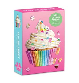 100PC Puzzle Shaped Mini Cupcake