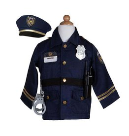 Great Pretenders Police Officer w/Accessories, Size 5-6