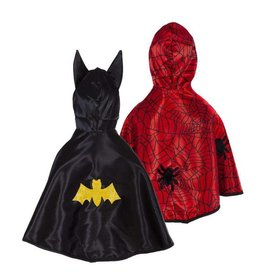 Great Pretenders Toddler Reversible Spider / Bat Cape