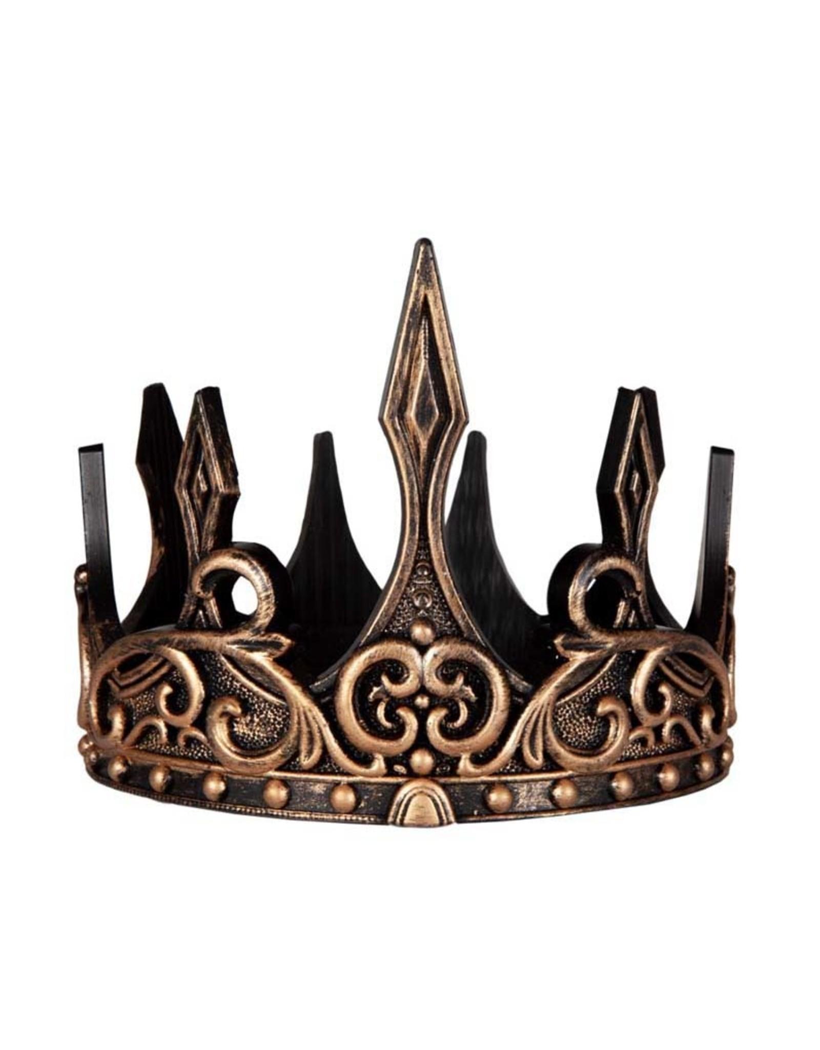 Great Pretenders Medieval Crown Gold / Black