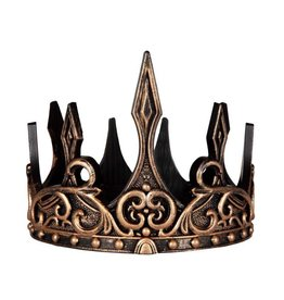 Great Pretenders Medieval Crown Gold / Black