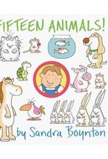 Workman Publishing Co FIFTEEN ANIMALS Board Book