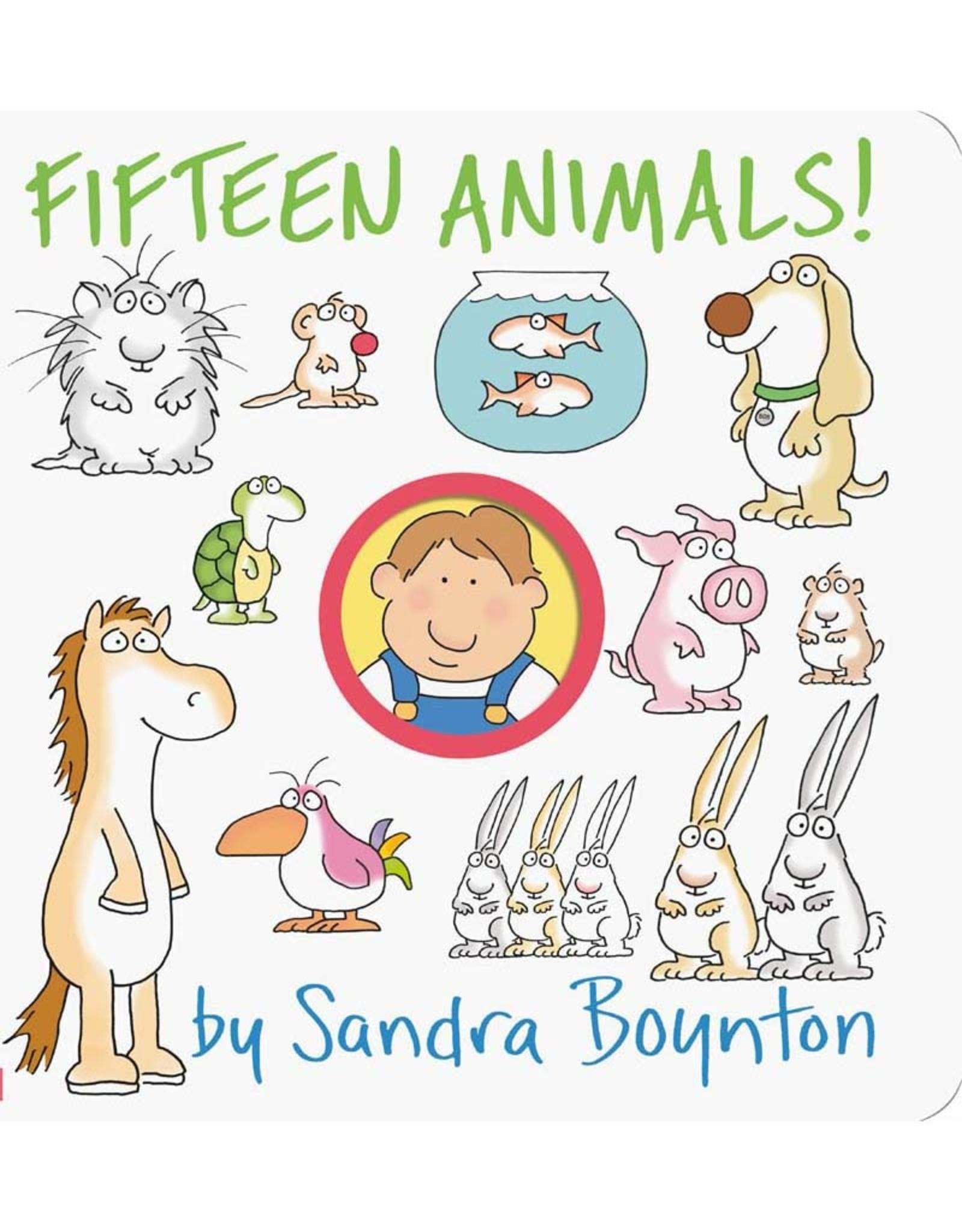 FIFTEEN ANIMALS Board Book