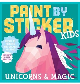 Workman Publishing Co Paint By Sticker Kids Unicorn & Magic