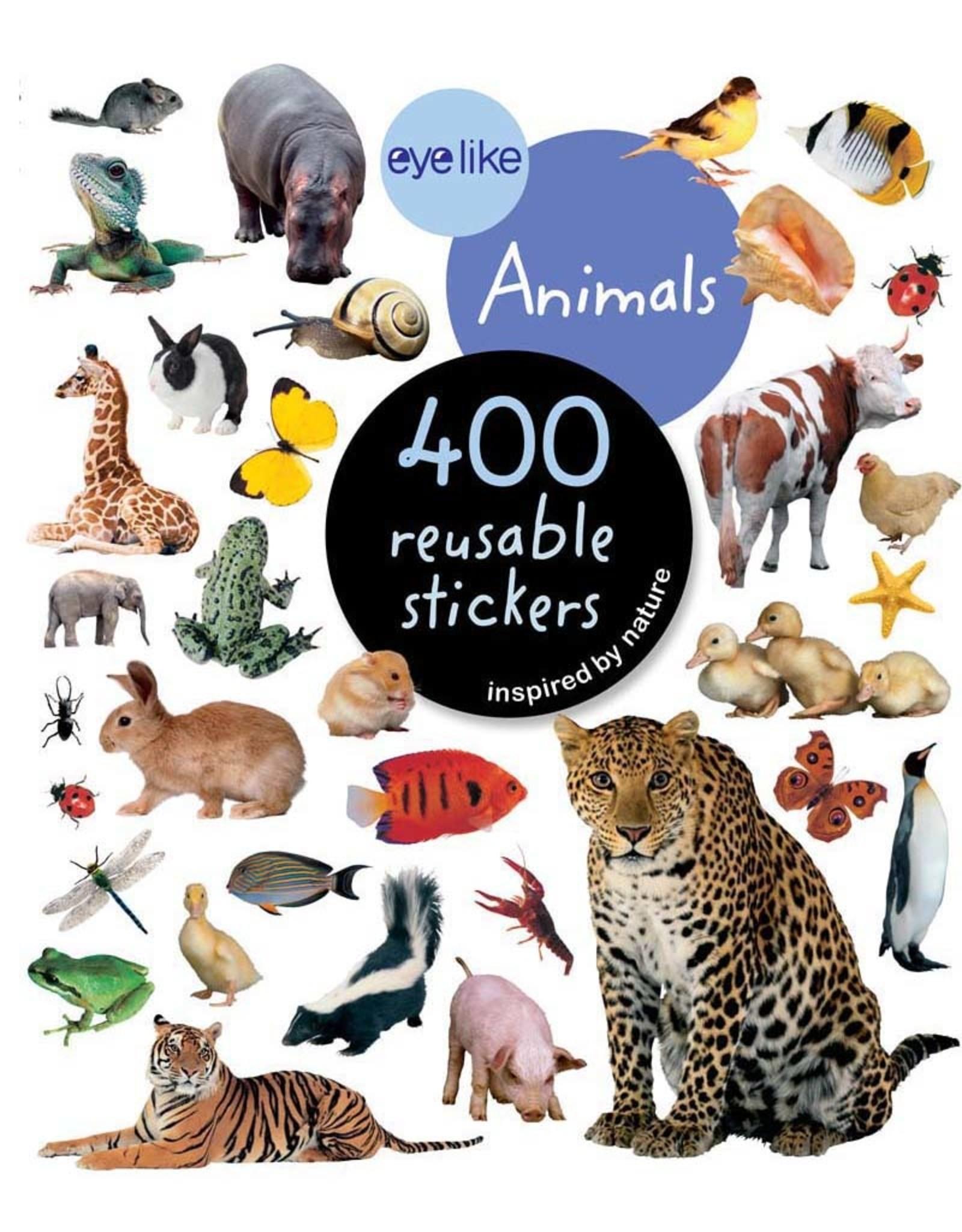 Workman Publishing Co EYE LIKE STICKERS ANIMALS