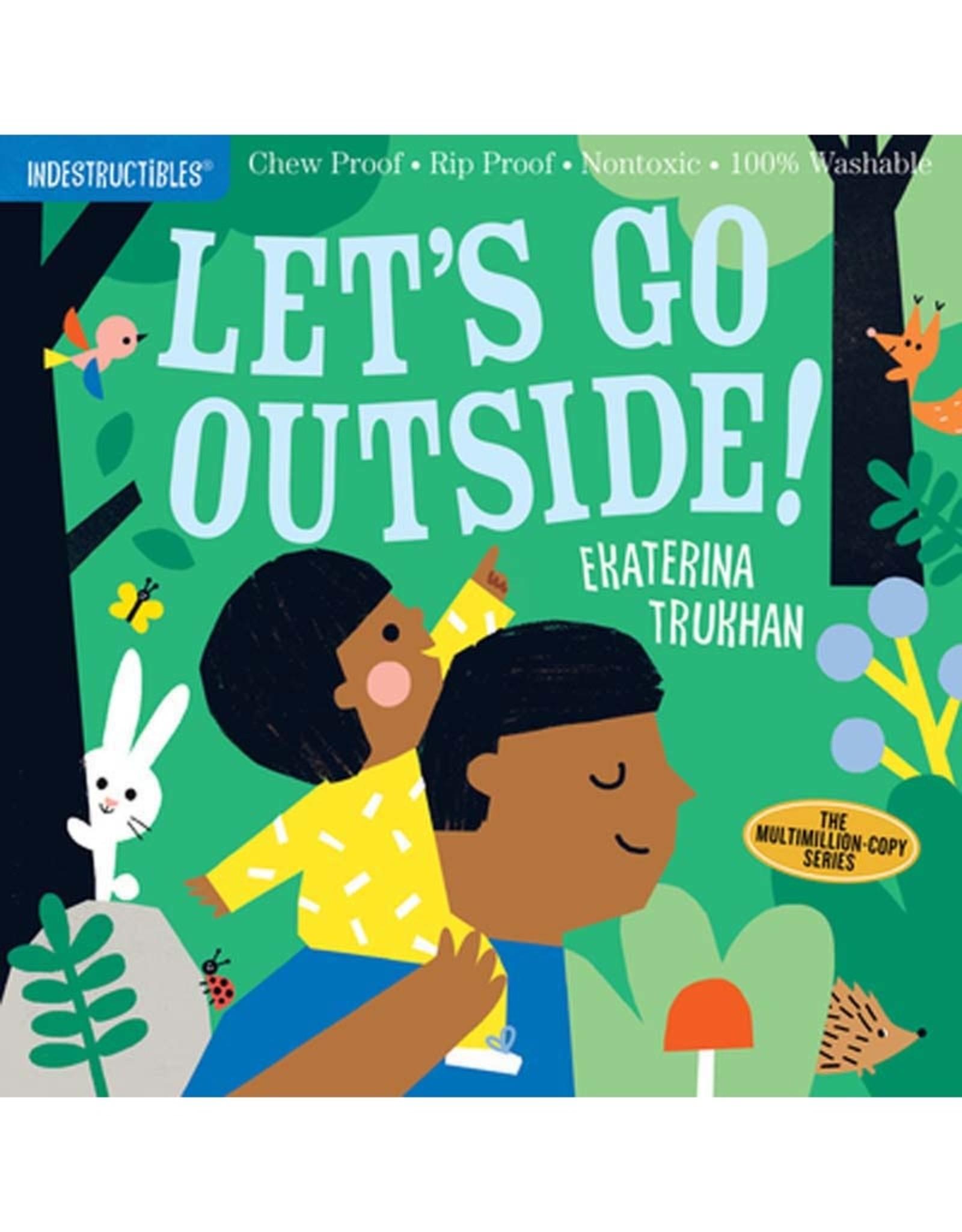 Workman Publishing Co Indestructibles Let's Go Outside