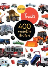 Workman Publishing Co Eyelike Stickers Trucks