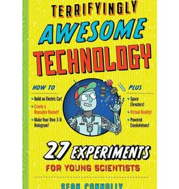 Workman Publishing Co Terrifyingly Awsome Technology