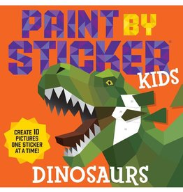 Workman Publishing Co Paint By Sticker Dinosaurs