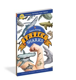 Workman Publishing Co Super Strong Tattoo Sharks