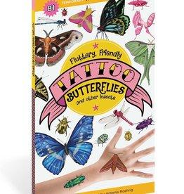 Workman Publishing Co Fluttery Friendly Butterfly Tattoos