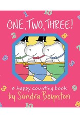 ONE TWO THREE! Board Book