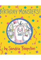 Workman Publishing Co BIRTHDAY MONSTERS Board Book