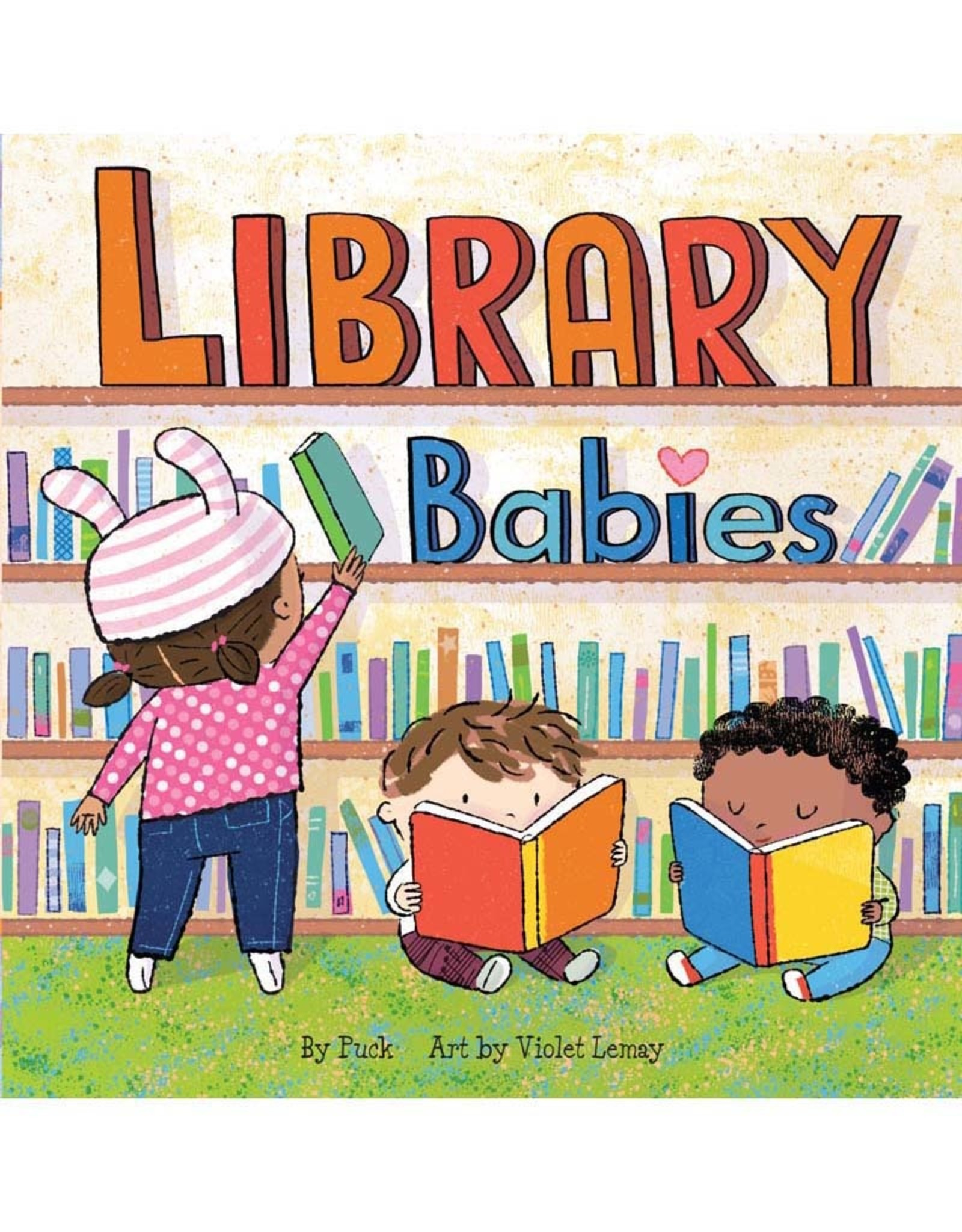 Workman Publishing Co Library Babies Board Book