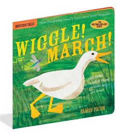 Workman Publishing Co Indestructibles Wiggle! March!